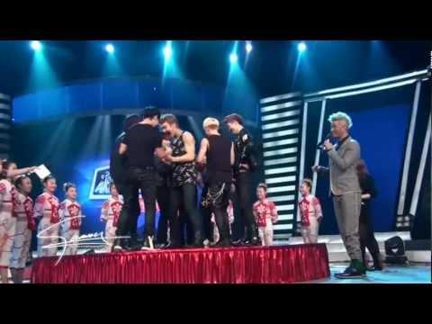 SJ-M HBSTV Challenge Recording, Eight Persons No legs challenge [Fan Cam] 130126