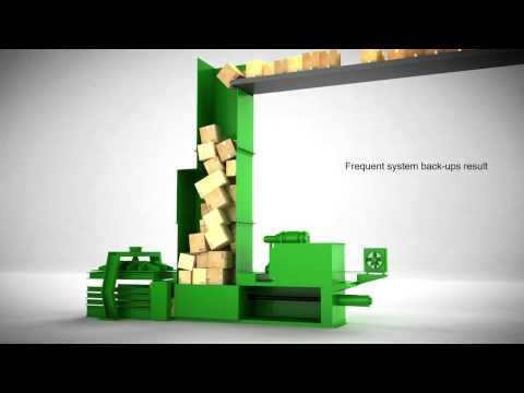 Corrugated BloApCo Shredders for Distribution Centers