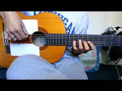 Nancy Ajram --- Bel Hadawa - The Intro Solo ( Guitar Tutorial )