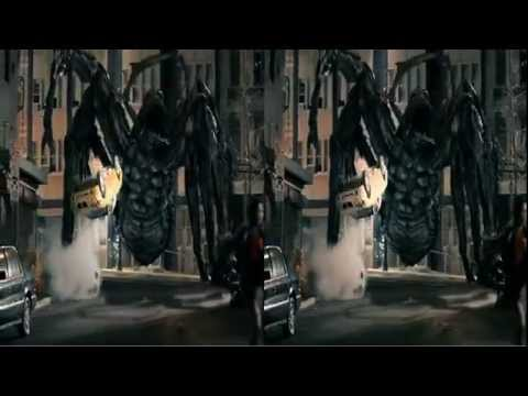 Official Spiders 3D trailer in 3D