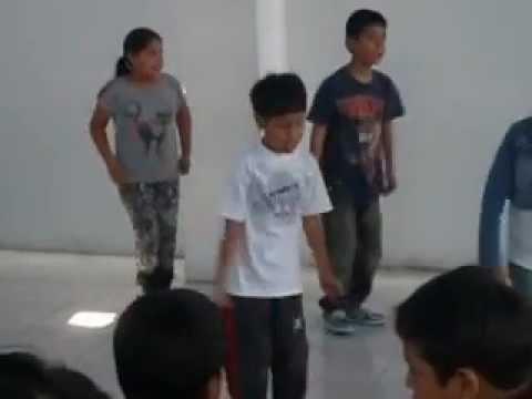 Con un canto de alabanza coreografia (xtreme kids)