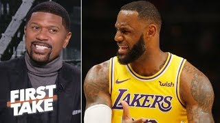 LeBron, Lakers aren't making the playoffs – Jalen Rose | First Take