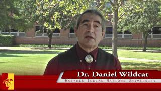 'For Dr. Daniel Wildcat, it's all about diversity!