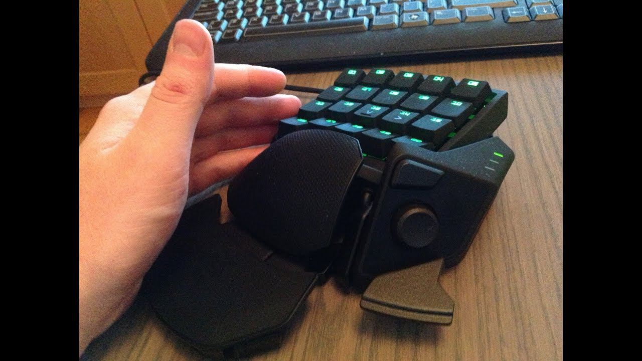 STEALTH EDITION » Razer Orbweaver » New Improved Silent Version Gaming Keypad - YouTube