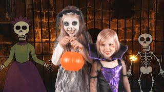 Halloween Night (Live Action Version) - Children's Halloween Song - YouTube