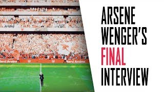 Arsene Wenger's FINAL interview | Part 5 - Referees and leaving Arsenal