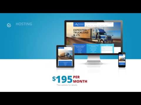 Website Design and more for $195/Month: CyberMark February TV Promo