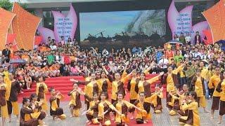Dân vũ Bắc Kim Thang - Giải nhì trong liên hoan dân vũ quốc tế thành phố hà nội lần thứ IV năm 2016