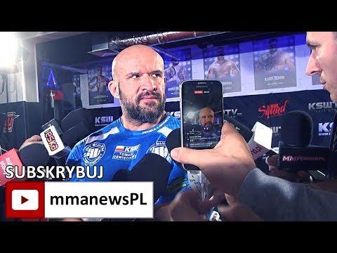 """KSW 41: Tomasz Oświeciński oszukał Popka """"udawanym"""" media treningiem"""