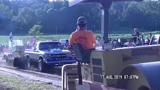 V8 Modified Tractors at Millers Tavern July 6 2019 - WWPTV