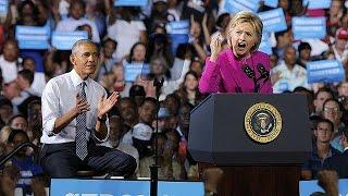 باراك أوباما يؤكد دعمه وثقته بهيلاري كلينتون لتكون رئيسة الولايات ...