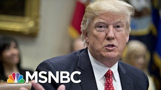 NYT: President Donald Trump Urged Senate GOP To End Russia Investigation | Morning Joe | MSNBC
