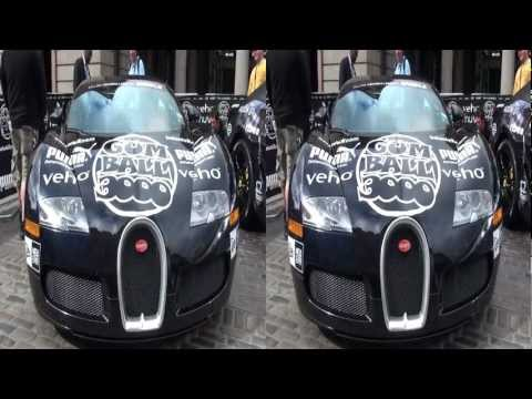 Gumball 3000 in 3D - 2011 London start day - YT3D Stereoscopic 3D video