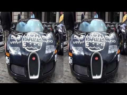 Gumball 3000 in 3D - 2011 London start day - YT3D Stereoscopic 3D video
