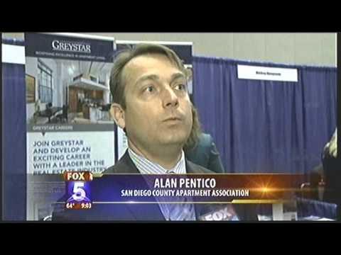 MILITARY CAREER FAIR  KSWB TV  6/19/13 9am