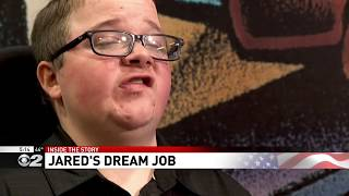 Inside the Story: Man living with muscular dystrophy gets to work in dream job