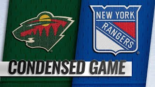 02/21/19 Condensed Game: Wild @ Rangers