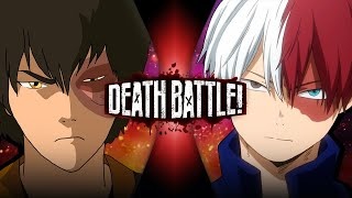 Zuko VS Shoto Todoroki (Avatar VS My Hero Academia) | DEATH BATTLE!