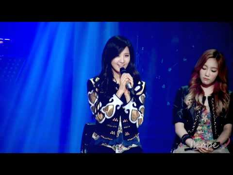 Cute Seohyun singing her SM audition song @ sketchbook