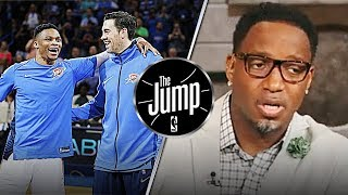 McGrady Reacts To OKC's Nick Collison Retiring After 15 Season in NBA | The Jump