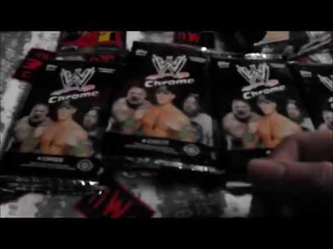 WWE Topps Chrome 2014 Hobby Box February/20/2015