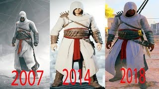 All the outfit of Altair in the game Assassin's Creed