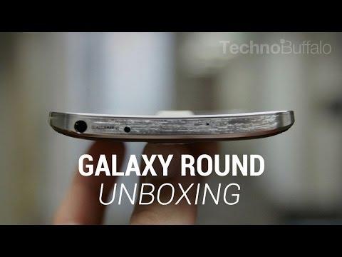 Samsung Galaxy Round Unboxing