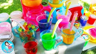 Blender Kitchen Toy Appliance Toys for Kids Learn Colors With Fruits & Vegetables Slime Toys