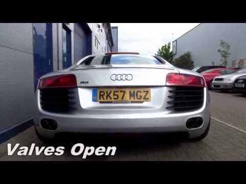 Armytrix F1 Exhaust: Audi R8 V8