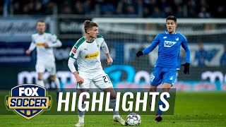 1899 Hoffenheim vs. Monchengladbach | 2018-19 Bundesliga Highlights