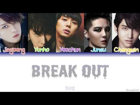 TVXQ (동방신기) - Break Out [Colour Coded Lyrics] (Kanji/Rom/Eng)