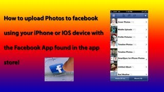How To Upload Photos To Facebook With Your IPhone