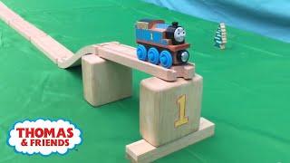 Thomas Train Stunts from 5MadMovieMakers | Thomas & Friends