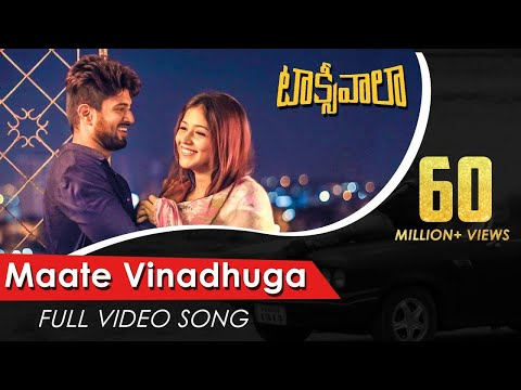Maate-Vinadhuga-Full-Video-Song---Taxiwaala