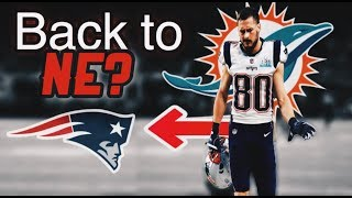 Miami Dolphins believed to be moving on from WR Danny Amendola *BACK TO PATRIOTS?*