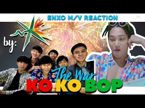M/V REACTION EXO COMEBACK, AFTER 1 YEARS AGO?? | KOKOBOP by ENXO
