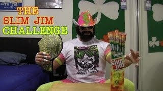 "THE SLIM JIM CHALLENGE (Featuring L.A. ""Macho Man"" BEAST)"