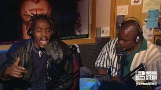 "Coolio ft. L.V. ""Gangsta's Paradise"" on the Howard Stern Show (1995)"