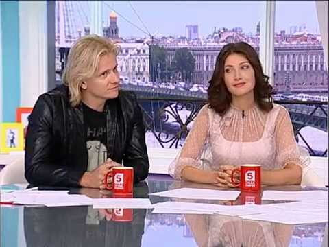 Глеб Матвейчук и Анастасия Макеева.Утро на 5.Петербург