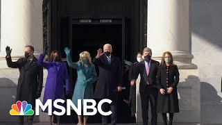 Joe Biden, Kamala Harris Arrive At The Capitol On Inauguration Day   MSNBC