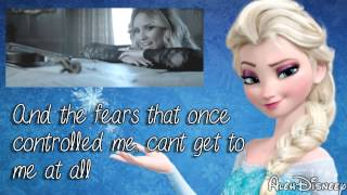 Demi Lovato & Martina Stoessel - Let it go / Libre soy MASHUP - Lyrics / Letra