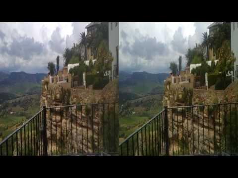 Palacio de Mondragon.Ronda. 3D SBS HD