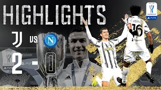 Ronaldo & Morata Goals Secure 9th Super Cup! | Juventus 2-0 Napoli | Supercoppa Italiana Final