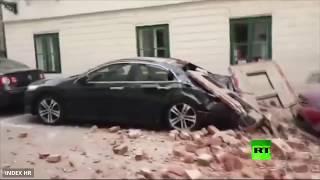 بالتزامن مع أزمة كورونا.. أقوى زلزال منذ أكثر من قرن يهز عاصمة ...