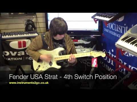 Fender American Standard Strat Vs Fender Mexican Standard Strat Demo Review
