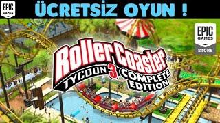 EPİC GAMES ÜCRETSİZ OYUNU ! [ROLLERCOASTER TYCOON 3 COMPLETE EDITION] TÜRKÇE