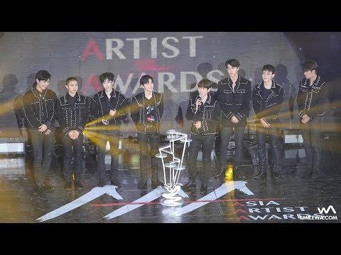 171115 EXO 대상 수상 4K 직캠 @아시아 아티스트 어워즈 (AAA) 4K Fancam by -wA-