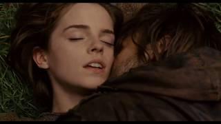 Emma Watson Kissing Douglas Booth - Noah