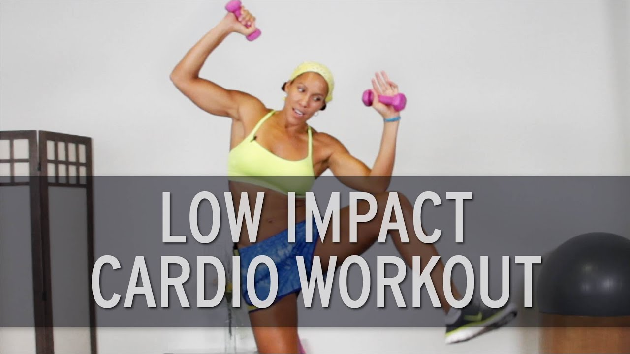 low impact cardio workout youtube. Black Bedroom Furniture Sets. Home Design Ideas