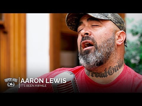Aaron Lewis - It's Been Awhile (Acoustic) // Country Rebel HQ Session